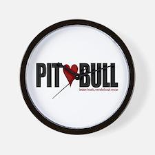 Pit (Love) Bull - Wall Clock