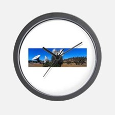 No Trespassing Wall Clock