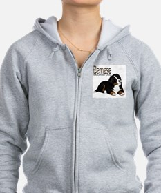 Unique Two sisters and bernese mountain dog Zip Hoodie