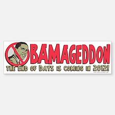 Obamageddon Anti Obama Bumper Bumper Sticker