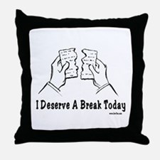 Deserve a Break Passover Throw Pillow