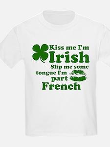 Funny Kiss me im irish T-Shirt