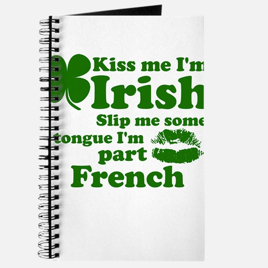 Cute St pattys day Journal
