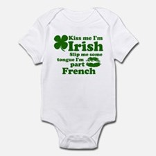 Kiss me irish Infant Bodysuit