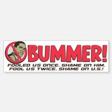 Barack Obummer Sticker (Bumper)