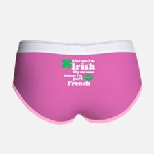 Cute St patrick%27s day Women's Boy Brief