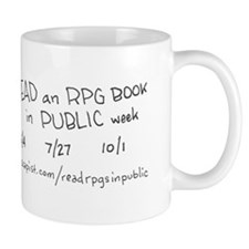 Cute Read an rpg book in public week Mug
