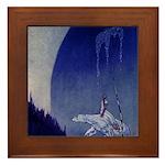 East o the Sun West o the Moon Framed Tile
