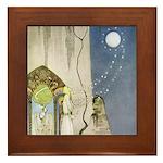 Kay Nielsen Out Popped the Moon Framed Tile