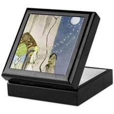 Kay Nielsen Keepsake Box: Out Popped the Moon!