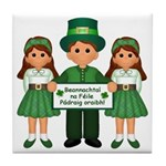 St. Patrick's Day Blessing Ceramic Tile