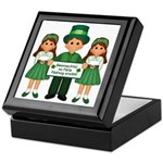 St. Patrick's Day Blessing Keepsake Box