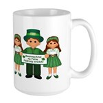St. Patrick's Day Blessing Large Mug