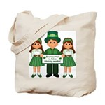 St. Patrick's Day Blessing Tote Bag