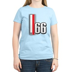 66 Red White T-Shirt