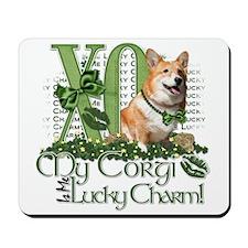 My Corgi is Me Lucky Charm Mousepad
