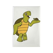 Turtle Rectangle Magnet