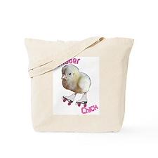 Skater Chick SK8 Tote Bag