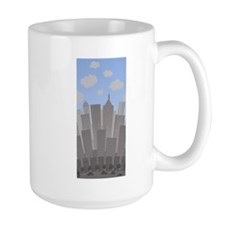 Buildings Large Mug