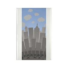 Buildings Rectangle Magnet