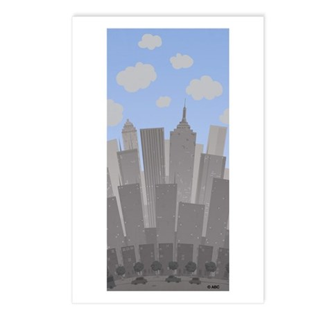 Buildings Postcards (Package of 8)