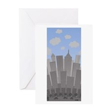 Buildings Greeting Card