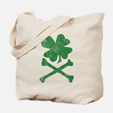 Shamrock & Bones Tote Bag