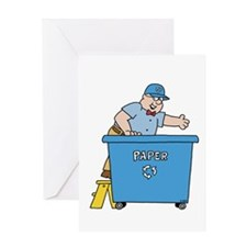 Morton Recycling Greeting Card