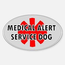 SERVICE DOG SHOP Decal