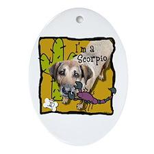 I'm a Scorpio Ornament (Oval)