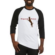 Tripawd Power Baseball Jersey