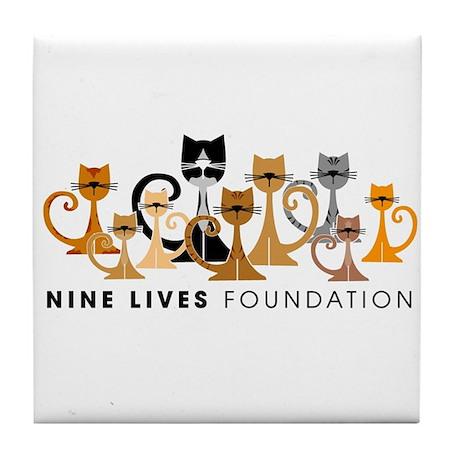 NLF Logo Tile Coaster