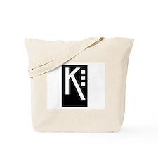 Craftsman K Tote Bag