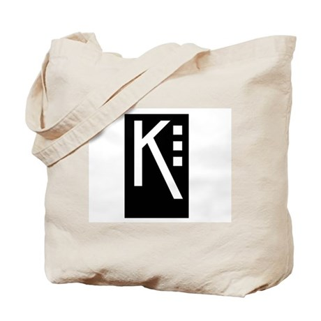 Craftsman K Tote Bag