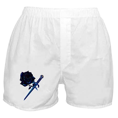 The Black Rose and Dagger Boxer Shorts