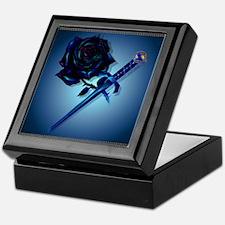 The Black Rose and Dagger Keepsake Box
