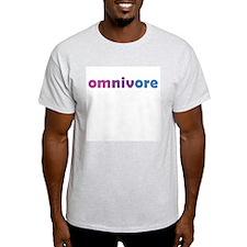 Bi Omnivore Ash Grey T-Shirt
