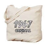 Mustang 1967 Tote Bag