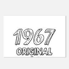 Mustang 1967 Postcards (Package of 8)