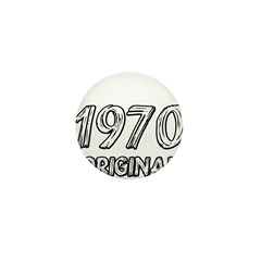 Mustang 1970 Mini Button (100 pack)