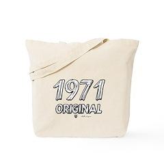 Mustang 1971 Tote Bag