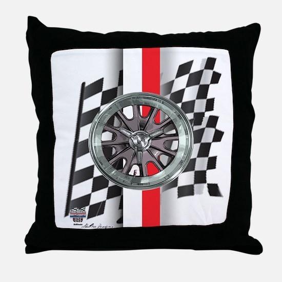 Street Racer MAGG Throw Pillow