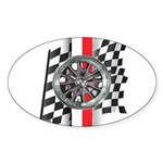 Street Racer MAGG Sticker (Oval)