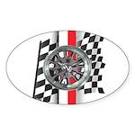 Street Racer MAGG Sticker (Oval 10 pk)