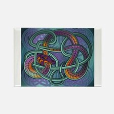 Celtic Dragon Rectangle Magnet