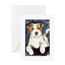Jack Russell Terrier 2 Greeting Card