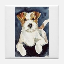 Jack Russell Terrier 2 Tile Coaster