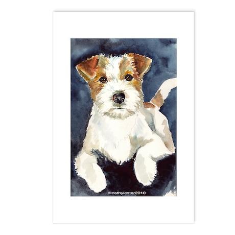 Jack Russell Terrier 2 Postcards (Package of 8)