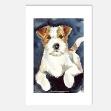 Jack Russell Terrier 2 Postcards (Package of 8)