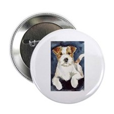 "Jack Russell Terrier 2 2.25"" Button"